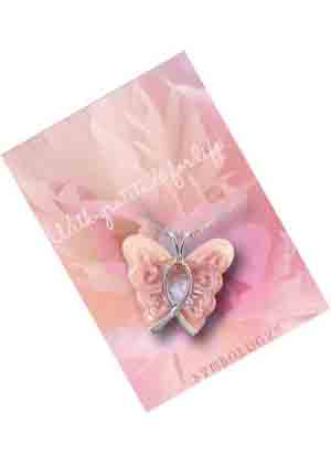 2e4c51d092c58 Lois Wagner Jewelry – Symbology Butterfly Breast Cancer Awareness ...